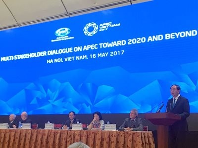 Multi-Stakeholder Dialogue on APEC toward 2020 and Beyond | Hanoi, Vietnam | May 16, 2017